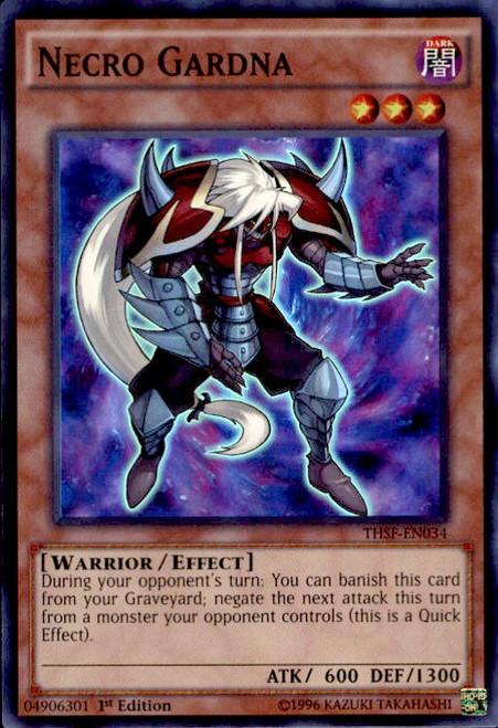 YuGiOh The Secret Forces Super Rare Necro Gardna THSF-EN034