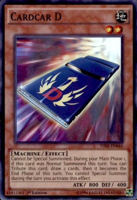 YuGiOh The Secret Forces Super Rare Cardcar D THSF-EN044