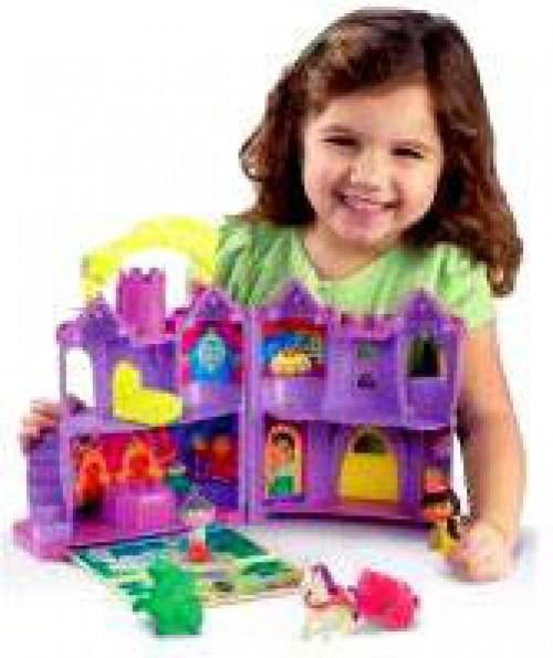 Fisher Price Dora the Explorer Let's Go Adventure Fairytale Castle Playset