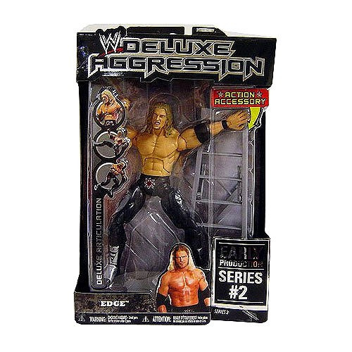 WWE Wrestling Deluxe Aggression Series 2 Edge Action Figure [Early Production]