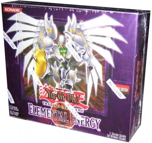 YuGiOh Trading Card Game Elemental Energy Booster Box [24 Packs]
