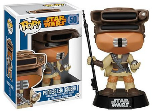 Funko Return of the Jedi POP! Star Wars Princess Leia Vinyl Bobble Head #50 [Boushh]
