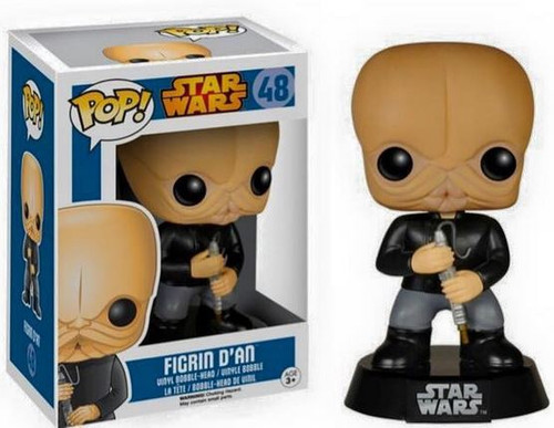 Funko A New Hope POP! Star Wars Figrin D'an Exclusive Vinyl Bobble Head #48