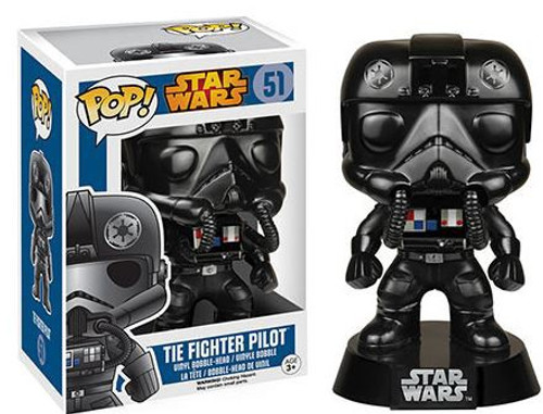 Funko A New Hope POP! Star Wars Tie Fighter Pilot Vinyl Bobble Head #51
