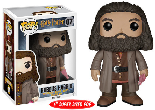 Funko Harry Potter POP! Movies Rubeus Hagrid 6-Inch Vinyl Figure #07 [Super-Sized]
