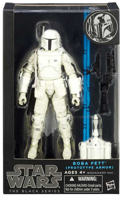 "Star Wars Black Series Boba Fett Exclusive Action Figure [Prototype Armor, 6""]"