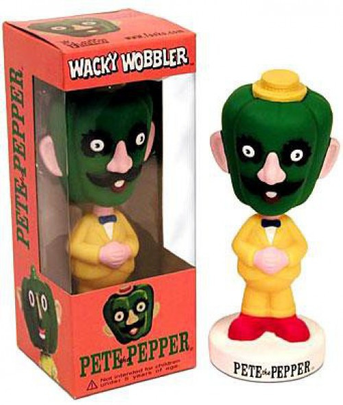 Funko Wacky Wobbler Pete the Pepper Bobble Head
