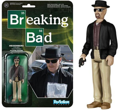 Funko Breaking Bad ReAction Heisenberg Action Figure