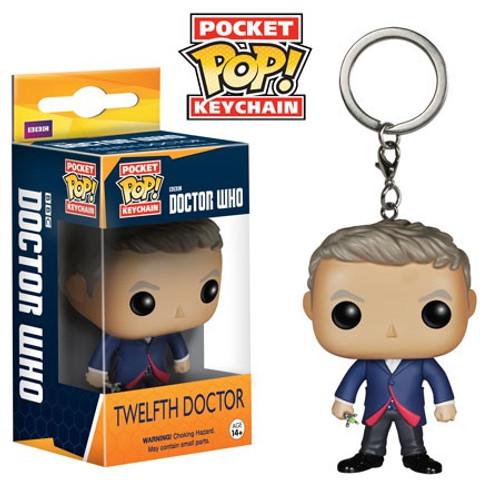 Funko Doctor Who Pocket POP! TV Twelfth Doctor Keychain