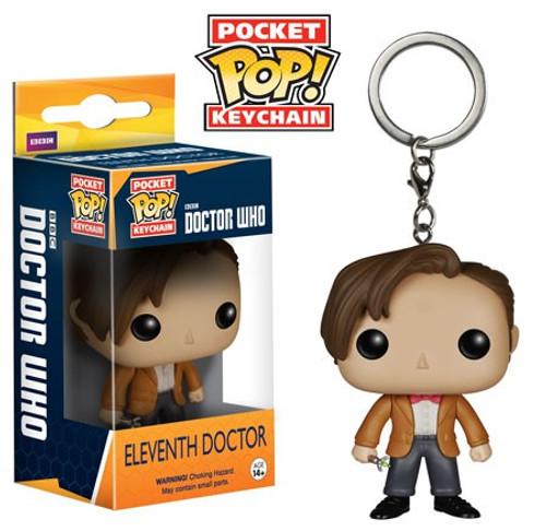 Funko Doctor Who Pocket POP! TV Eleventh Doctor Keychain