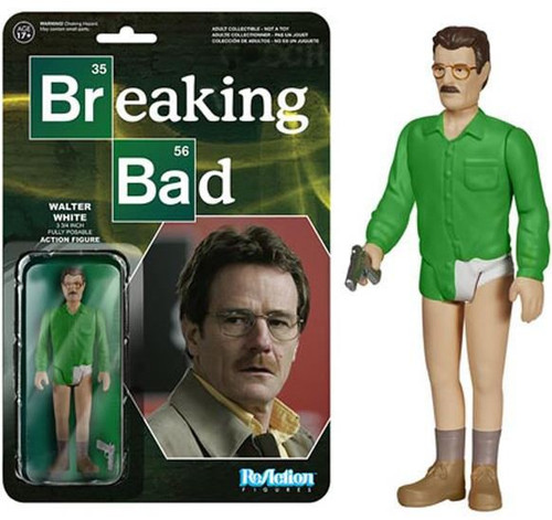 Funko Breaking Bad ReAction Walter White Action Figure [Underwear]