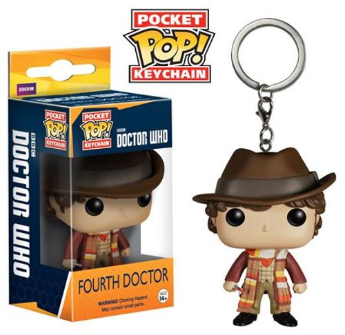 Funko Doctor Who Pocket POP! TV Fourth Doctor Keychain