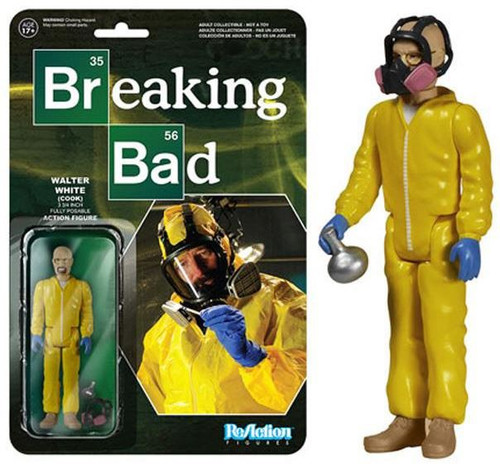 Funko Breaking Bad ReAction Walter White Action Figure [Cook]