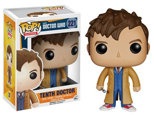 Funko Doctor Who POP! TV Tenth Doctor Vinyl Figure #221