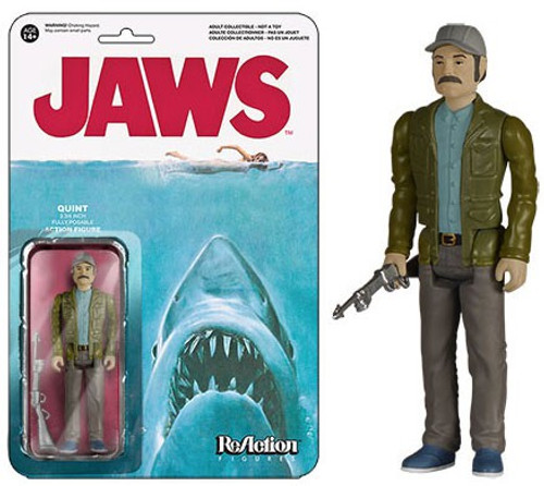Funko Jaws ReAction Quint Action Figure