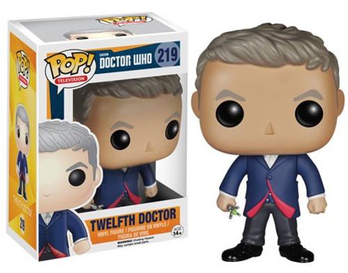 Funko Doctor Who POP! TV Twelfth Doctor Vinyl Figure #219