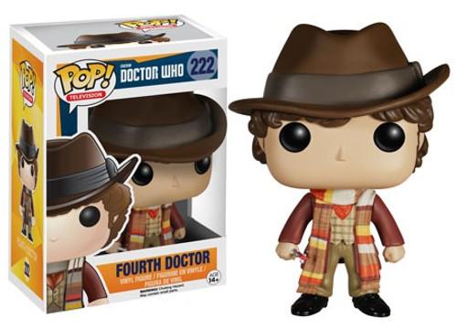Funko Doctor Who POP! TV Fourth Doctor Vinyl Figure #222