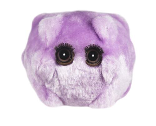 Giant Microbes Maladies Microbe Kissing Disease Plush [Epstein-Barr]