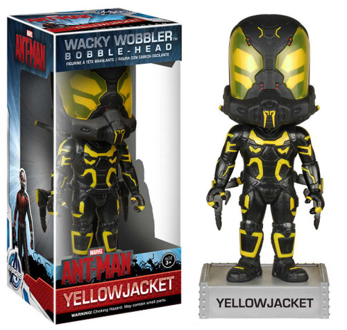Funko Marvel Ant-Man Wacky Wobbler Yellowjacket Bobble Head