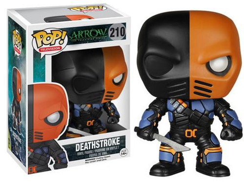 Funko DC Arrow POP! Heroes Deathstroke Vinyl Figure #210 [Arrow]