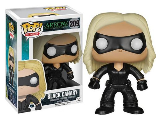 Funko DC Arrow POP! Heroes Black Canary Vinyl Figure #209