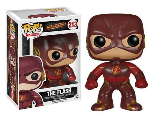 Funko CW TV Series POP! Heroes The Flash Vinyl Figure #213 [CW Version]