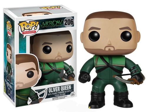 Funko DC Arrow POP! Heroes Oliver Queen Vinyl Figure #206