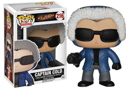 Funko The Flash CW TV Series POP! Heroes Captain Cold Vinyl Figure #216 [CW Version]