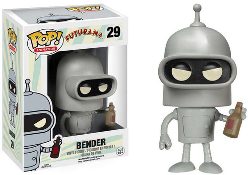 Funko Futurama POP! Animation Bender Vinyl Figure #29