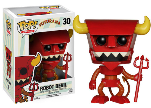 Funko Futurama POP! Animation Robot Devil Vinyl Figure #30