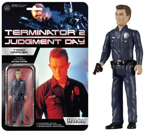 Funko Terminator 2 Judgment Day ReAction T-1000 Officer Action Figure