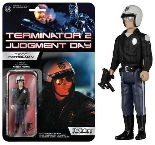 Funko Terminator 2 Judgment Day ReAction T-1000 Patrolman Action Figure