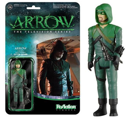 Funko ReAction Green Arrow Action Figure
