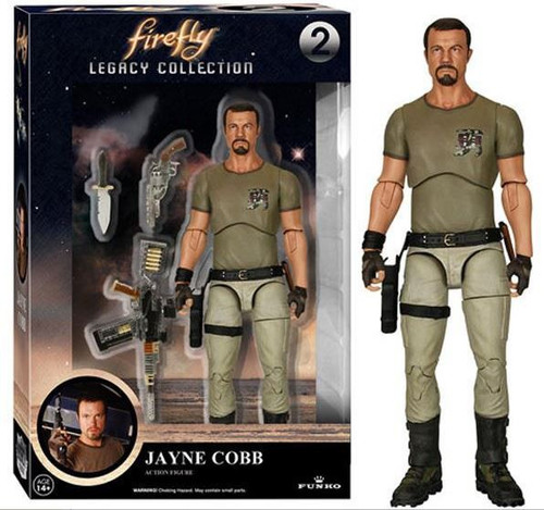 Funko Firefly Legacy Collection Jayne Cobb Action Figure #2