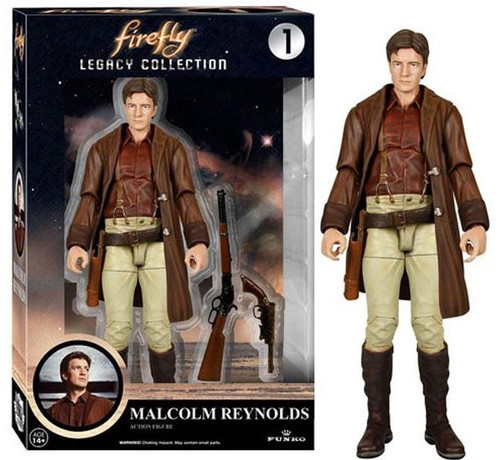 Funko Firefly Legacy Collection Malcolm Reynolds Action Figure #1