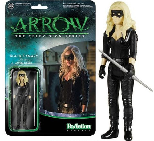 Funko Arrow ReAction Black Canary Action Figure