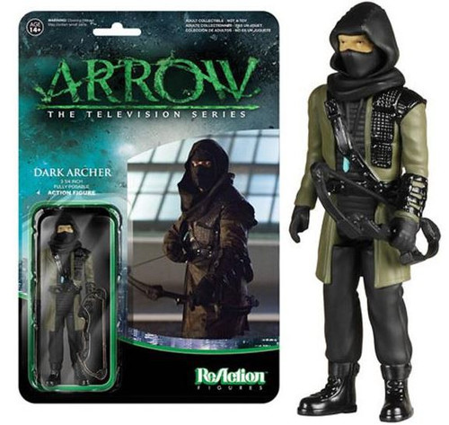 Funko Arrow ReAction Dark Archer Action Figure