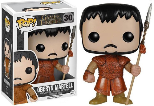Funko Game of Thrones POP! TV Oberyn Martell Vinyl Figure #30