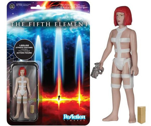 Funko The Fifth Element ReAction Leeloo Action Figure [Straps Costume]