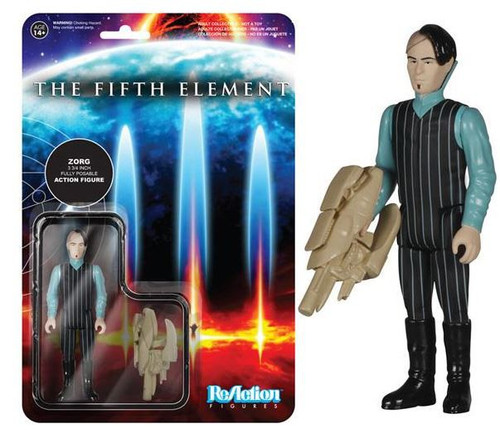 Funko The Fifth Element ReAction Zorg Action Figure