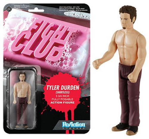 Funko Fight Club ReAction Tyler Durden Action Figure [Shirtless]