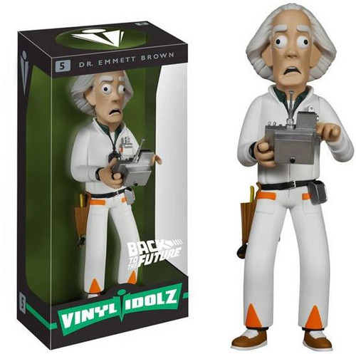 Funko Back to the Future Vinyl Idolz Dr. Emmett Brown 8-Inch Vinyl Figure #5