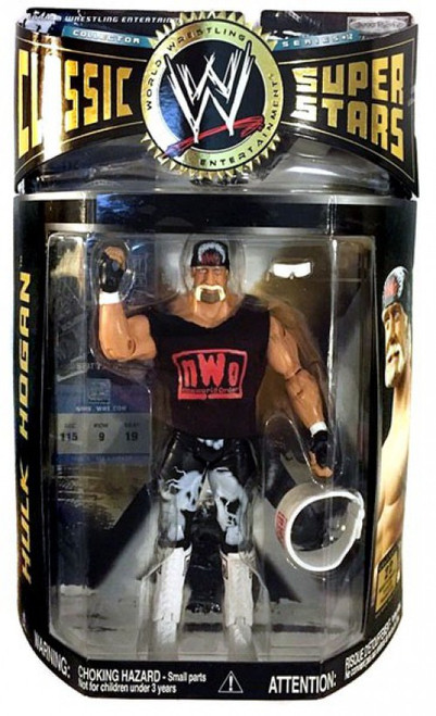 WWE Wrestling Classic Superstars Series 12 Hulk Hogan Action Figure [NWO Shirt]