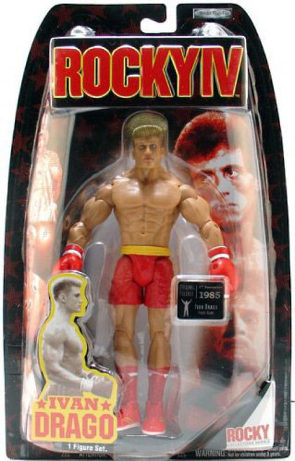 Rocky IV Series 4 Ivan Drago Action Figure [Fight Gear]