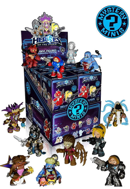 Funko Blizzard Mystery Minis Heroes of the Storm Mystery Box [12 Packs]