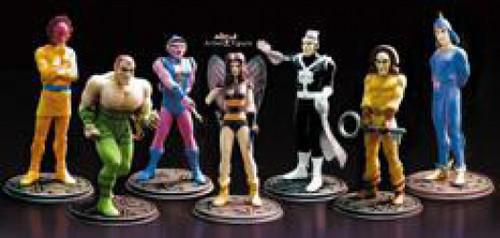 DC JLA Silver Age Villains PVC Figure Set