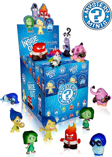 Funko Disney / Pixar Mystery Minis Inside Out Mystery Box [12 Packs]