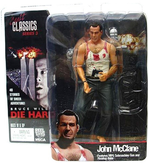 NECA Die Hard Cult Classics Series 3 John McClane Action Figure