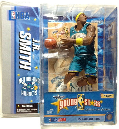McFarlane Toys NBA New Orleans Hornets Sports Picks Young Stars J.R. Smith Exclusive Action Figure