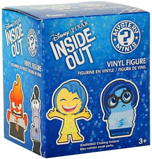 Funko Disney / Pixar Mystery Minis Inside Out Mystery Pack [1 RANDOM Figure!]